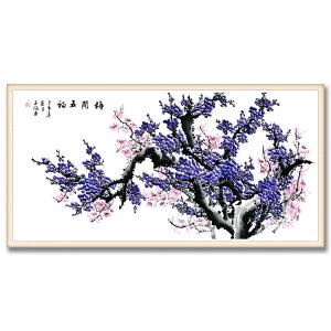 中国美术家协会会员、国家一级美术师 李子涵《梅开五福》DYP58