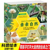 亲亲自然全套11册培养孩子观察细节能力拥抱大自然绘本 3-6宝宝科学启蒙图画书亲亲自然图书日本畅销20年 带孩子打开大