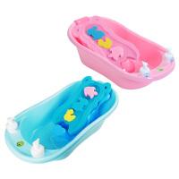 儿童大号小孩沐浴盆婴儿洗澡盆幼儿可坐躺通用宝宝沐浴盆