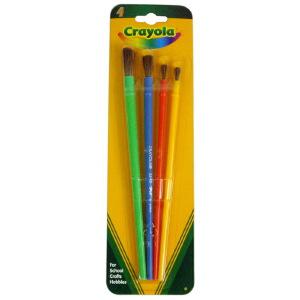 当当自营Crayola 绘儿乐 画刷4件套装 05-3515