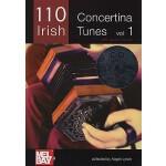 【预订】110 Irish Concertina Tunes, Volume 1: With Guitar Chord