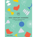 Mid-Century Modern: 10 Sheets of Wrapping Paper with 12 Gif
