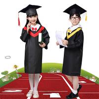 儿童博士帽礼服摄影表演服儿童博士服小学生幼儿园学士服演出服