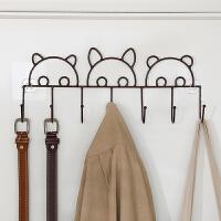 免打孔创意门后挂钩强力粘胶卫生间置物架墙上粘钩壁挂衣帽钩衣架