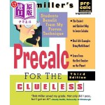【中商海外直订】Bob Miller's Calc for the Clueless: Precalc