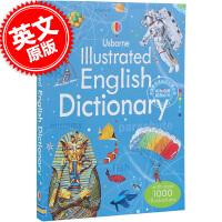 现货 英文原版 English Dictionary 儿童绘本字典 Usborne 少儿学习词典,包括一千多个彩色插图