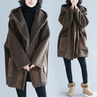 胖女人冬装洋气外套显瘦240斤加厚加肥加大码女装显瘦减龄胖妹妹