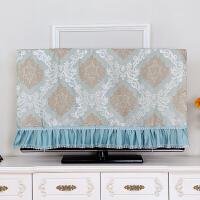 电视机罩防尘罩挂式55英寸50液晶42寸欧式电视罩套盖布壁挂电视帘定制定制