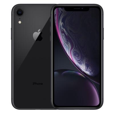 【当当自营】Apple 苹果 iPhone XR 128GB 黑色 全网通 手机 A12仿生芯片,全面屏,面容ID,支持双卡。
