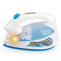 玩具电吹风 男女儿童过家家厨房玩具仿真电器仿真迷你家电玩具洗衣机吹风机 湖蓝色 蓝色 电烫斗