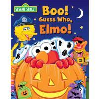 【预订】Sesame Street: Boo! Guess Who, Elmo!