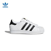 【到手价:419.4元】阿迪达斯三叶草金标小白鞋男女大童鞋运动休闲鞋板鞋C77154 白色