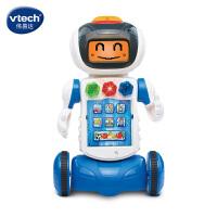 Vtech�ヒ走_�控跳舞�C器人男孩智能�子�W�玩具�Y物