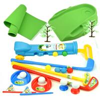 儿童高尔夫球杆套装宝宝户外亲子运动男女孩健身室内互动体育玩具