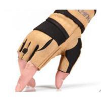 健身手套哑铃器械单杠锻炼加长护腕训练半指防滑运动装备