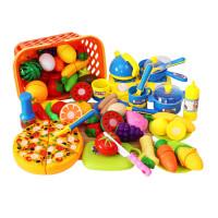 儿童男孩做饭菜过家家仿真厨房玩具女宝宝厨具餐具套装水果切切乐