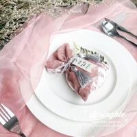 婚庆用品个性婚礼喜糖盒结婚欧式创意丝绒喜糖袋布袋回礼盒糖果袋