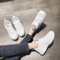 户外运动鞋女韩版百搭厚底时尚休闲老爹鞋