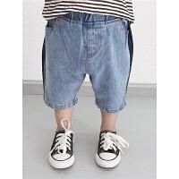儿童牛仔短裤夏季宝宝中裤薄款小童裤子男童五分裤