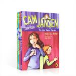 顺丰发货 英文原版 Cam Jansen 侦探故事第31-34 【4册】儿童读物章节桥梁书5-8-12岁英语分级阅读提