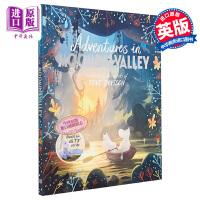 【中商原版】Amanda Li:Adventures in Moominvalley 姆明谷历险 儿童独立阅读入门初级章