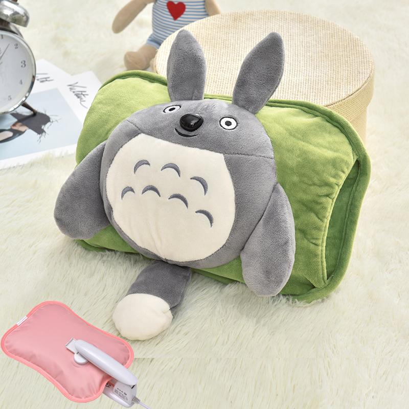 加热充电热水袋毛绒布双插手电暖宝可拆洗煖宝宝暖手宝