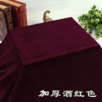 金丝绒布料窗帘背景装饰布会议桌布黑色红色加厚布头面料绒布布料T