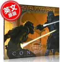 [现货]英文原版 Star Wars Art:concept 星球大战 概念艺术画册
