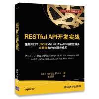 RESTful API开发实战 使用REST JSON XML和JAX-RS构建微服务 大数据和Web服务应用