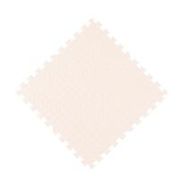 泡沫垫拼接 泡沫地垫卧室家用榻榻米铺地板垫子拼接60x60海绵儿童爬行垫拼图 米白色 60x60x1.0cm十字纹(1