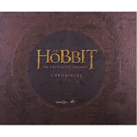 现货 英文原版 The Hobbit 1 霍比特人1 意外旅程 画册 设定集