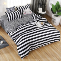 床单三件套学生宿舍单人1.2m床上用品1.5米纯棉被单单件被套双人定制
