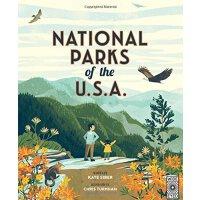 英文原版 美国国家公园 精装绘本 Chris Turnham插画 National Parks of the USA