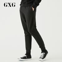 GXG男�b 秋季�r尚�n版流行黑色�子男�n版潮流休�e�