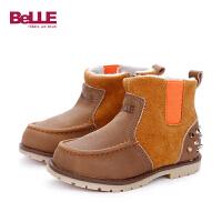【79元2双】百丽Belle童鞋幼童鞋子特卖童鞋宝宝学步鞋(0-4岁可选)CE5208