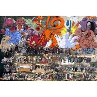 火影忍者拼图 火影忍者全家福拼图1000片木质樱花卡通动漫儿童平图玩具