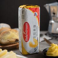 百钻无盐发酵黄油 烘焙面包牛轧糖雪花酥原料 家用动物黄油块500g