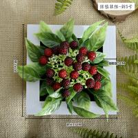 创意家居背景墙上装饰品仿真植物绿植相框客厅墙面壁挂壁饰