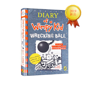 小屁孩日记#14 Diary of a Wimpy Kid 精装 小鬼日记 英文原版儿童幽默小说读物 小学生成长阅读 Jeff Kinney