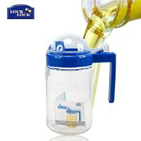 【当当自营】LOCK&LOCK/乐扣乐扣 厨房透明玻璃油壶 调味瓶(500ml) LOP500
