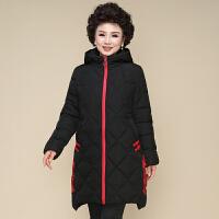 妈妈冬装棉衣新款羽绒中年女冬季外套中长款中老年棉衣女棉袄