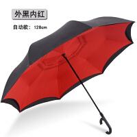 雨伞反向伞男女双层免持式全自动双人雨伞德国汽车用长柄晴雨两用