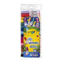 保税区发货 Crayola/绘儿乐 16色可水洗短杆粗头马克笔 水彩笔套餐组 3岁以上 海外购