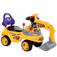 扭扭车儿童溜溜车男孩充电动滑行车3岁挖掘机玩具车音乐1宝宝可坐