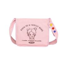 韩版校园休闲单肩包文艺女包包袋中大学生斜挎包帆布女包