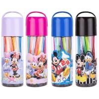 广博(GuangBo)24色筒装水彩笔画笔/学习用品 迪士尼随机颜色IMQ94202当当自营