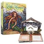 Pop Up The Little Mermaid 小美人鱼 3D立体呈现 安徒生童话故事 儿童故事绘本 精装英文原版