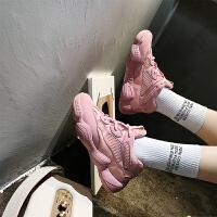 百搭超火的鞋子运动鞋女夏2018新款网红火焰鞋韩版ulzzang原宿