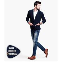 男士时尚针织衫 男韩版修身休闲外套  开衫毛衣