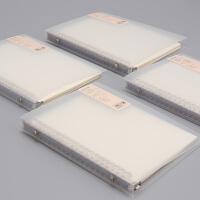 道林活页本夹B5A5可拆卸纸方网格本子学生空白英语记事笔记本文具